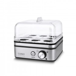 Caso E9 egg cooker 8 egg(s) 400 W Stainless steel,Transparent