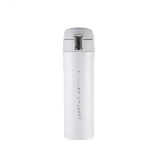 Thermal mug MAESTRO MR-1641-45-WHITE (0.45L), white