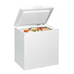 Whirlpool WHS2121 freezer Freestanding Chest White 204 L A+