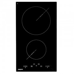 Akpo PIA3082502 hob Black Built-in Zone induction hob 2 zone(s)