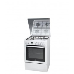 Indesit I6GMH6AG(W)/U cooker Freestanding cooker White Gas
