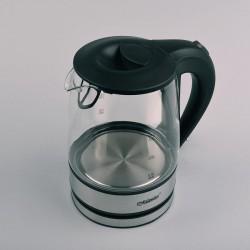 Feel-Maestro MR062 electric kettle 1.2 L Black, Transparent 1630 W