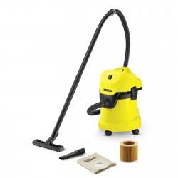 Kärcher WD 3 1000 W Drum vacuum Dry&Wet Dust bag 17 L