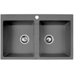 PYRAMIS 070053201 kitchen sink Apron-front sink Rectangular Granite