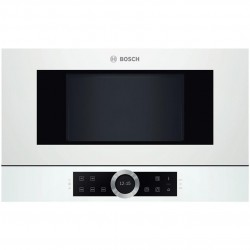 Bosch Serie 8 BFL634GW1 microwave Built-in Solo microwave 21 L 900 W White