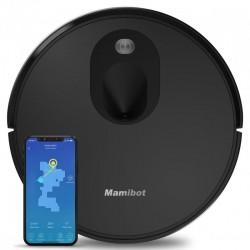 Mamibot VSLAM robot vacuum Bagless Black, 0.6 L