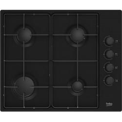 Beko HIBG64120SB hob Black Built-in 60 cm Gas 4 zone(s)