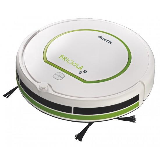 ARIETE 2711/10 Briciola robot vacuum 25 W Bagless Green, White