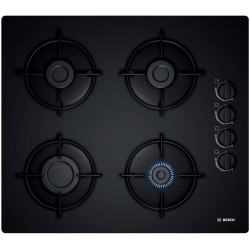 Bosch POP6B6B10 hob Black Built-in Gas 4 zone(s)