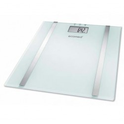 Medisana Ecomed BS-70E Electronic personal scale Rectangle Transparent,White