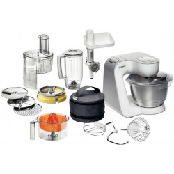 Bosch Styline food processor 3.9 L Stainless steel,White 900 W
