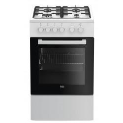 Beko FSS52020DW cooker Freestanding cooker White Gas A