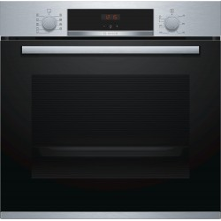 Bosch Serie 4 HBA534ES0 oven Electric 71 L Black,Stainless steel A