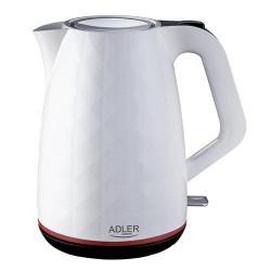 Adler AD 1277 W electric kettle 1.7 L White 2200 W