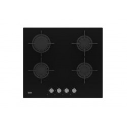 Beko HILG 64220 S hob Black Built-in Gas 4 zone(s)
