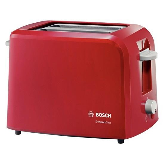 Bosch TAT3A014 toaster 2 slice(s) Red 980 W