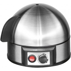 Clatronic EK 3321 egg cooker 7 egg(s) 400 W Black,Stainless steel