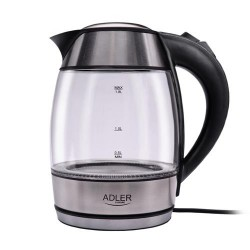 Adler AD 1246 electric kettle 1.8 L Stainless steel,Transparent 2200 W
