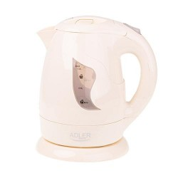 Adler AD 08b electric kettle 1 L Beige 850 W