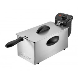Clatronic FR 3586 Fryer 3 L Silver,Stainless steel Stand-alone 2000 W