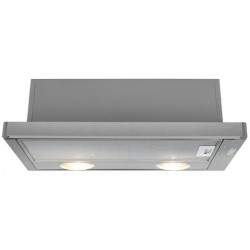 Beko HNT61210X cooker hood 280 m³/h Semi built-in (pull out) Stainless steel D
