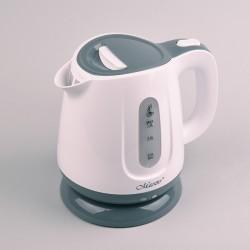 Feel-Maestro MR013 grey electric kettle 1 L Grey, White 1100 W