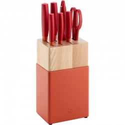 ZWILLING Now S 8-pc, Knife block set, red