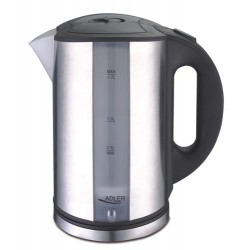 Adler AD 1216 electric kettle 1.7 L Black,Silver 2000 W