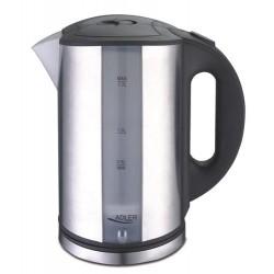 Adler AD 1216 electric kettle 1.7 L Black,Silver 2000 W