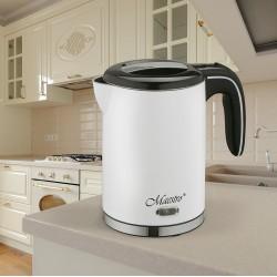 Feel-Maestro MR030 white electric kettle 1.2 L 1500 W