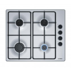 Bosch PBP6B5B80 hob Stainless steel built-in Gas 4 zone(s)