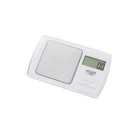 Adler AD 3161 kitchen scale Electronic personal scale White Rectangle