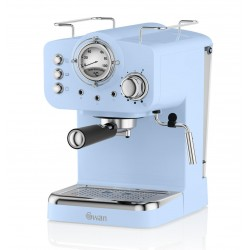 Coffee machine espresso Swan Espresso Coffee Machine SK22110BLN (1100W; blue color)
