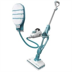Black & Decker 9IN1 Steam-mop Upright steam cleaner 0.5 L Turquoise,White 1300 W