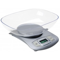 Adler AD 3137s Electronic kitchen scale Silver Tabletop