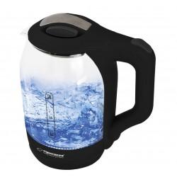 Esperanza EKK025K Electric kettle 1.7 L Black, Multicolor 1500 W