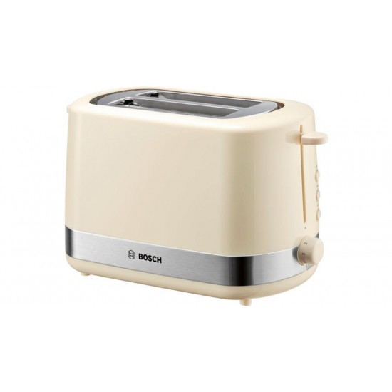 Bosch TAT7407 toaster 2 slice(s) Beige 800 W