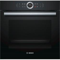 Bosch Serie 8 HBG633BB1 oven Electric 71 L 3600 W Black A+