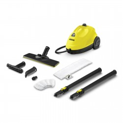 Kärcher SC 2 EasyFix Cylinder steam cleaner 1 L Black,Yellow 1500 W