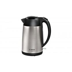 Bosch TWK3P420 electric kettle 1.7 L Black,Stainless steel 2400 W