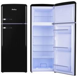 Amica VD 1442 AB fridge-freezer Freestanding 213 L Black