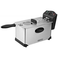 Camry CR 4909 Hot air fryer 3 L Single Black,Satin steel Stand-alone 2000 W