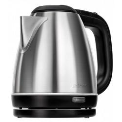 MPM MCZ-84M electric kettle 1 L Black, Stainless steel 1600 W