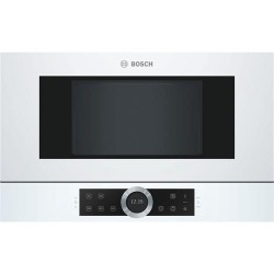 Bosch Serie 8 BFR634GW1 microwave Built-in Solo microwave 21 L 900 W White